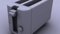 Modeling a 3d Toaster in 3dsMax