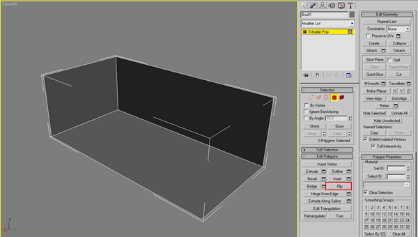Box with Flipped Normals