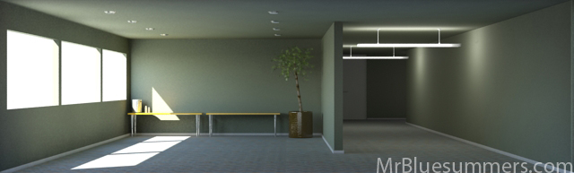Interior Lighting In Maya &