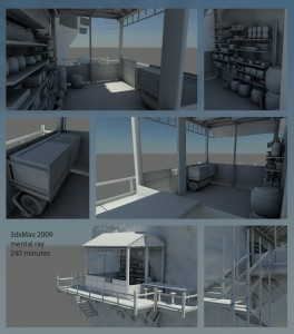 Full Size Render Sheet of the Treehouse Entry